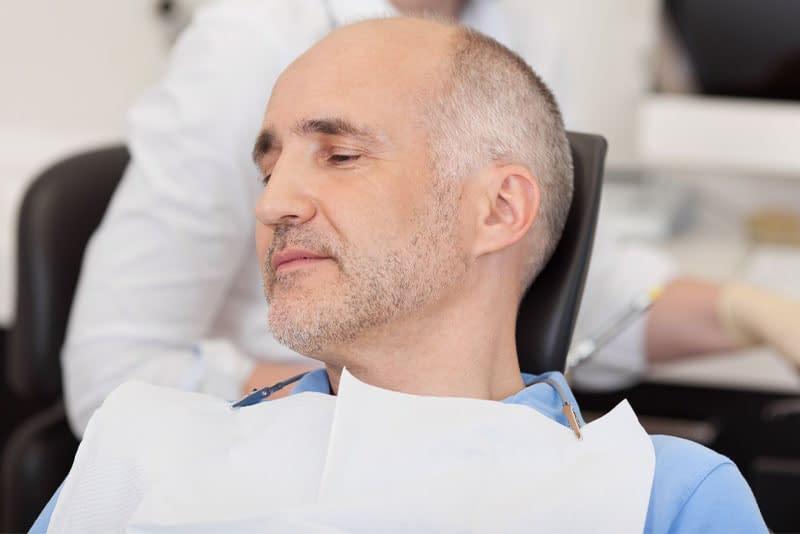 dental patient under oral sedation