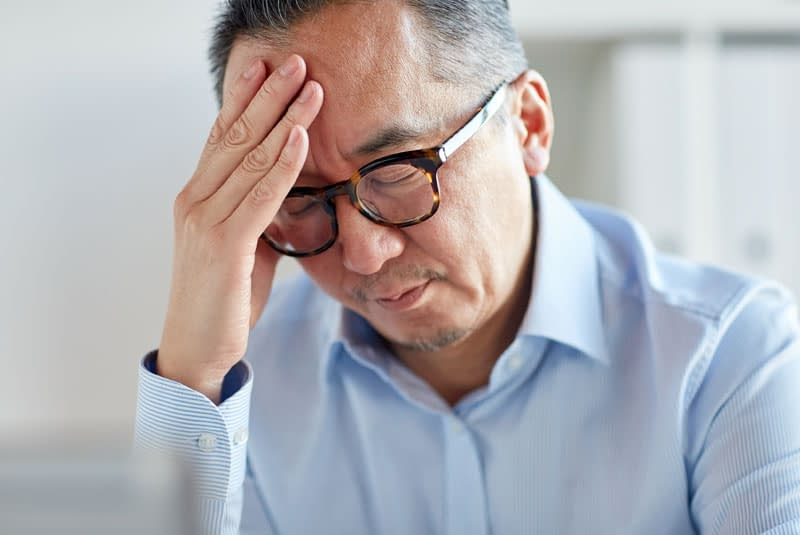 dental patient with headache